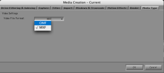 Media Creation Settings 1